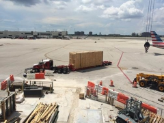 Miami APM delivered to the site