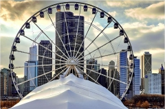 Chicago wheel inauguration