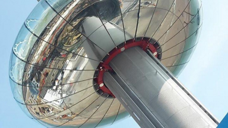 The i360 panoramic platform is flying high